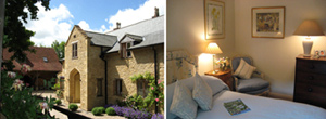 Abbots Hill has no accommodation on site but has selected some beautiful B&B's and Hotels locally. Some are a short walk away.