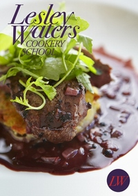 Pan Fried Venison with a Juniper Rub, Port wine Sauce and Thyme Rosti