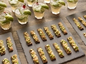 Christmas Canapés and Starters Demo